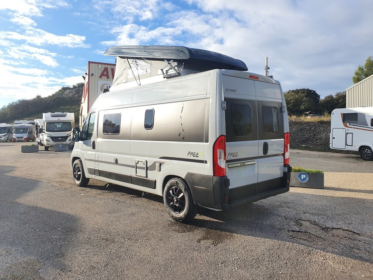 Hymer campervans Free 600 Campus édition