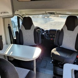 Hymer campervans free 540 Blue Evolution