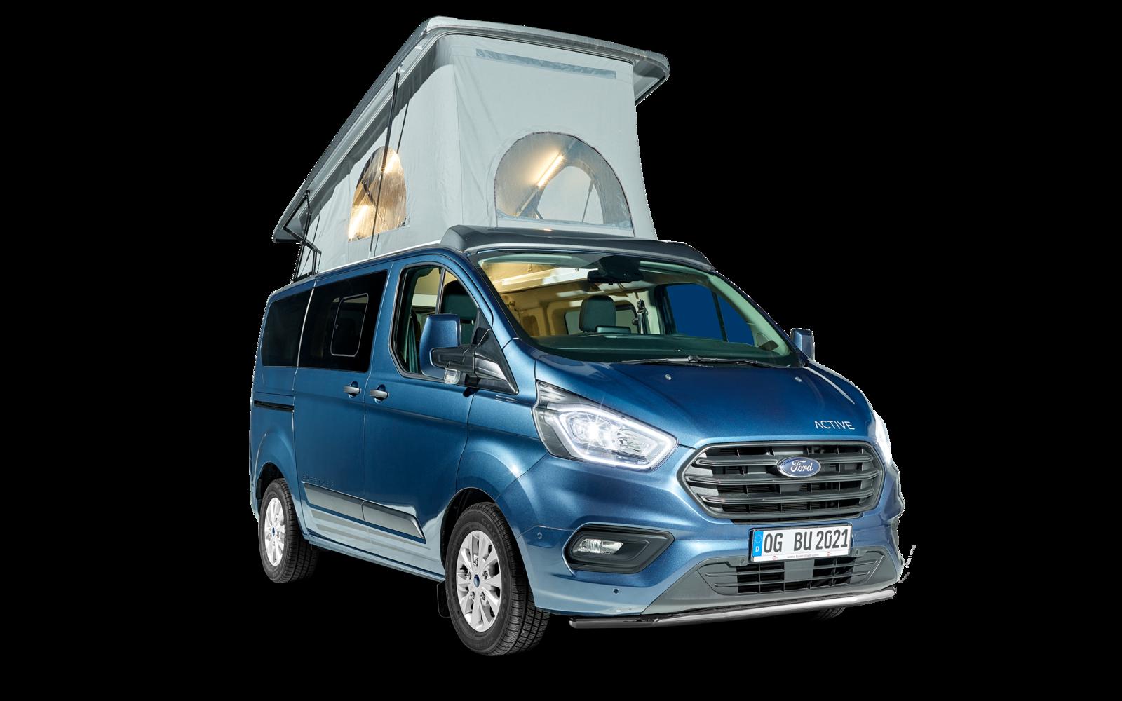 Nouveau van aménagé par Burstner sur base Ford : Le Copa