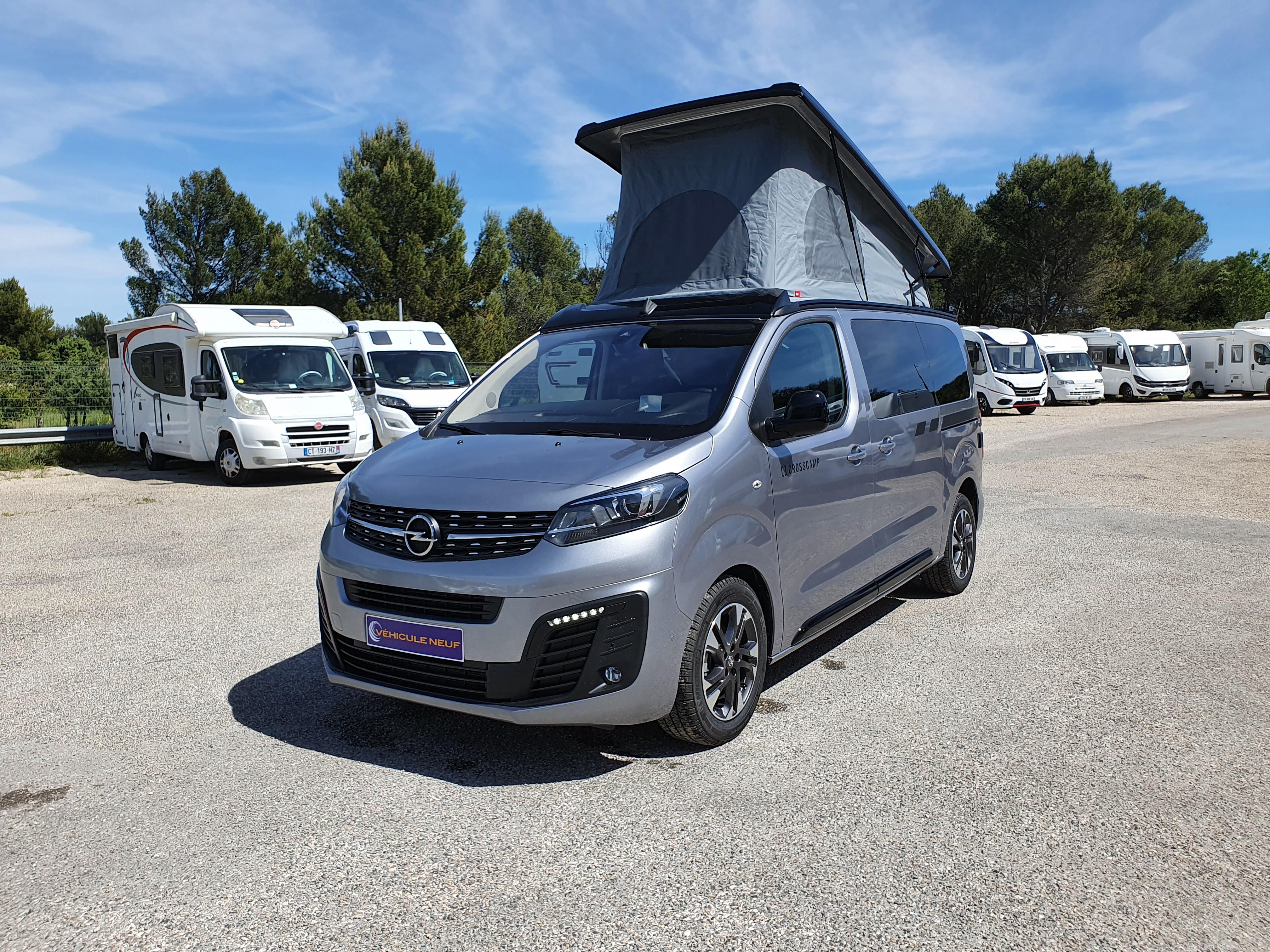 Nouveau Crosscamp Lite sur Opel ou Toyota !