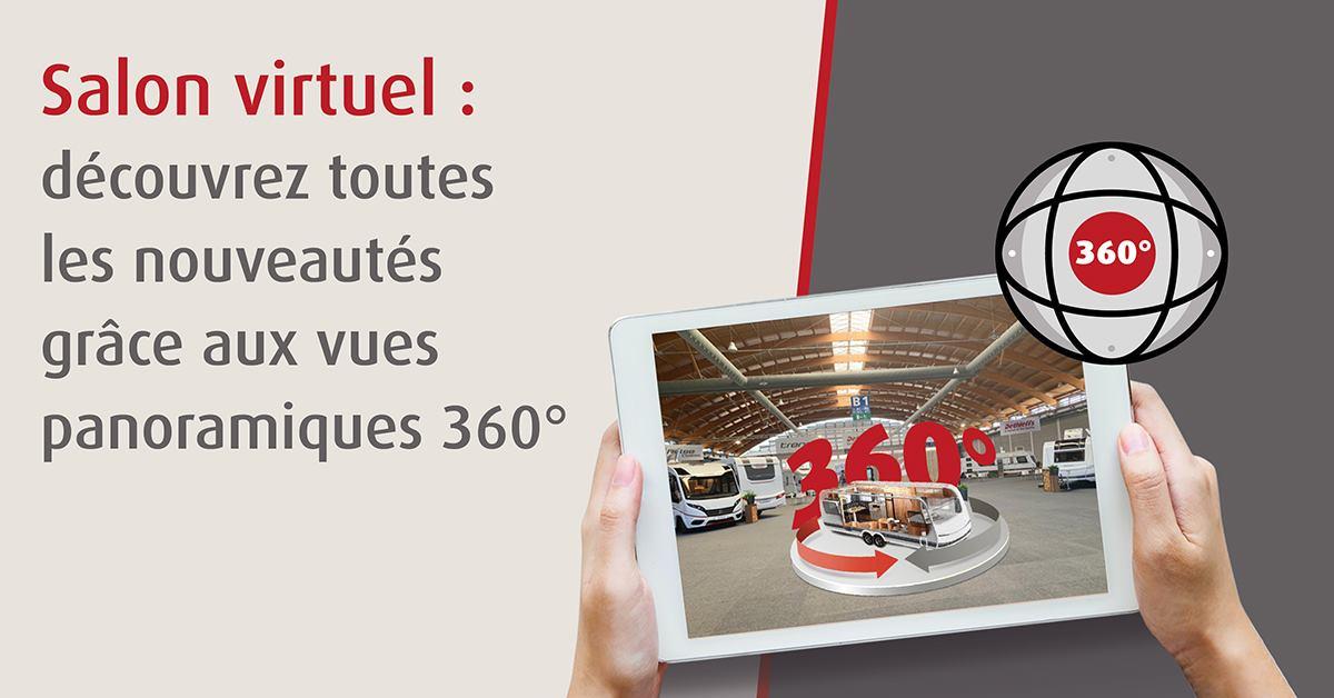 Salon virtuel des nouveautés Dethleffs collection 2022