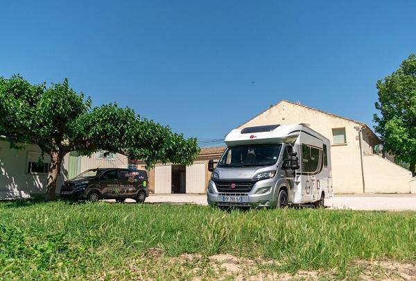 Avenir Caravanes fait étape dans un France passion !
